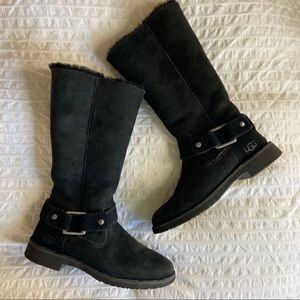 UGG fur lined boots